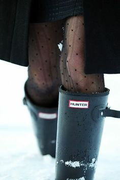 INSPIRACIÓN: BOTAS HUNTER